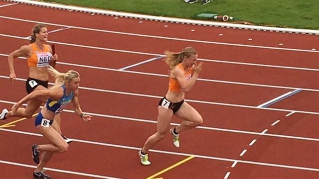 Leidse Olympische Dag bij atletiekbaan in Leidse Hout