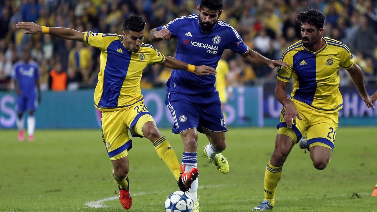 Maccabi Tel Aviv-Chelsea (0-4)