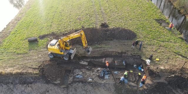 Archeologen vinden tweede grafveld in Vianen