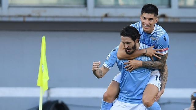 Luis Alberto was de matchwinner bij Lazio.