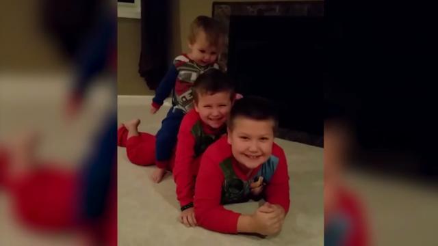 Familiekiekje maken loopt uit op chaos