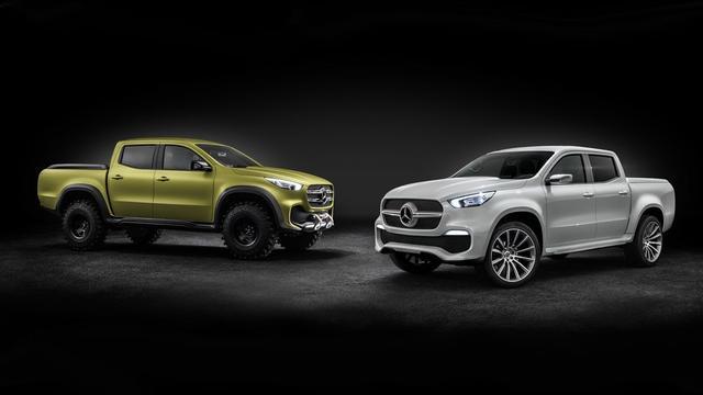Mercedes onthult bizarre concept car: dit is de X-klasse