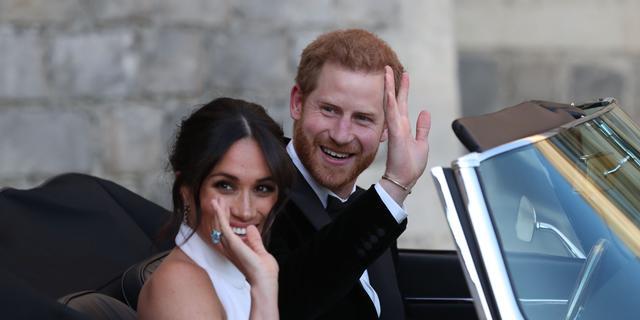 Prins Harry en Meghan Markle breken Instagram-record