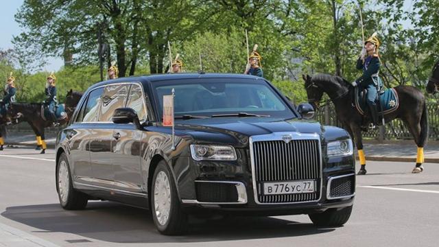Nieuwe presidentiële limousine Vladimir Poetin gelanceerd