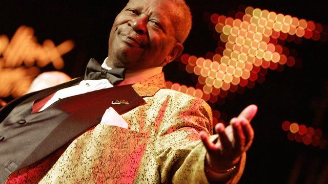 Afscheid van B.B. King voor fans op vrijdag