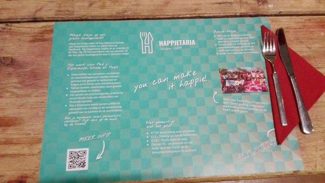 Officiële opening van pop-up restaurant Happietaria