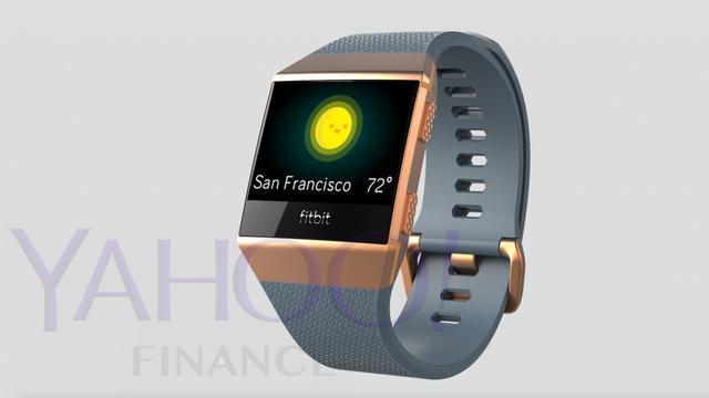 Vermeende smartwatch van Fitbit