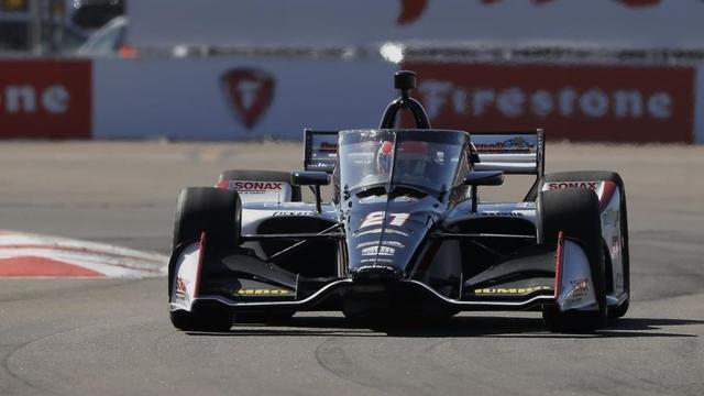 Van Kalmthout eindigt na crash in middenmoot bij slotrace IndyCar-seizoen