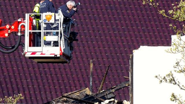 Onderzoek bij uitgebrande villa nog in volle gang