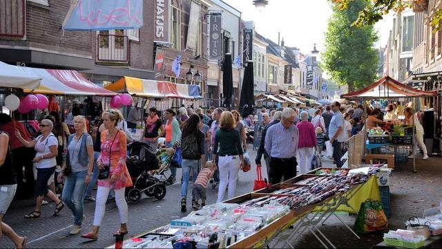 Jaarmarkt in Alphense centrum woensdag van start