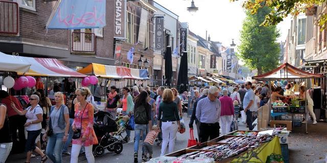 Geen Jaarmarkt in Alphen aan den Rijn vanwege anderhalvemeterregel
