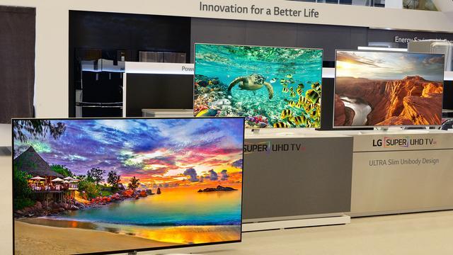 'Ultra hd-tv's in 2016 voor het eerst populairder dan full hd-televisies'