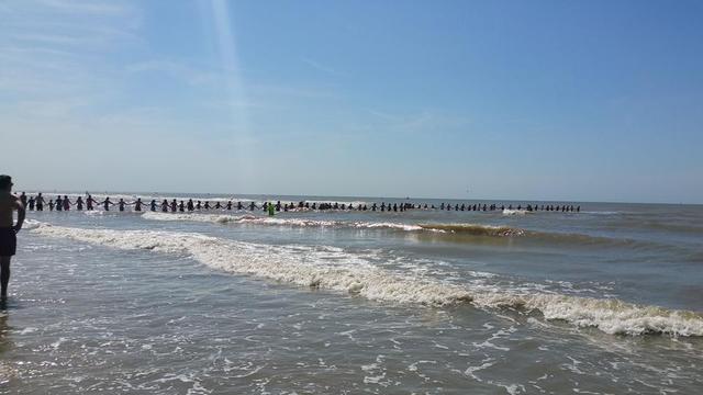 Massale zoektocht zwemster Zandvoort vergeefs