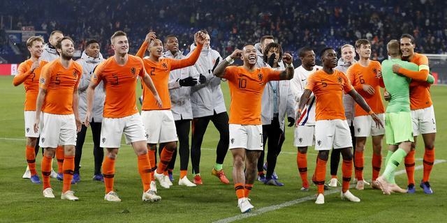 Nederlands elftal passeert Duitsland op FIFA-wereldranglijst