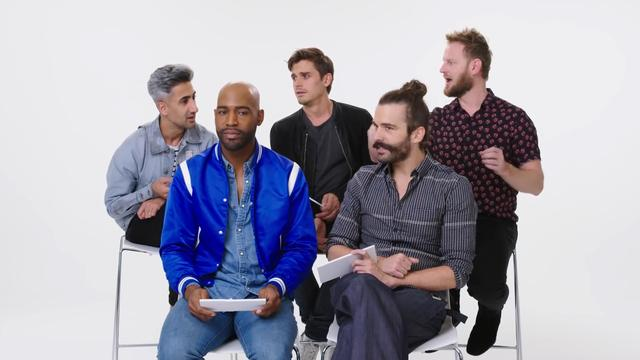 Cast Queer Eye kiest tussen hoelahoepen en massagetreinen