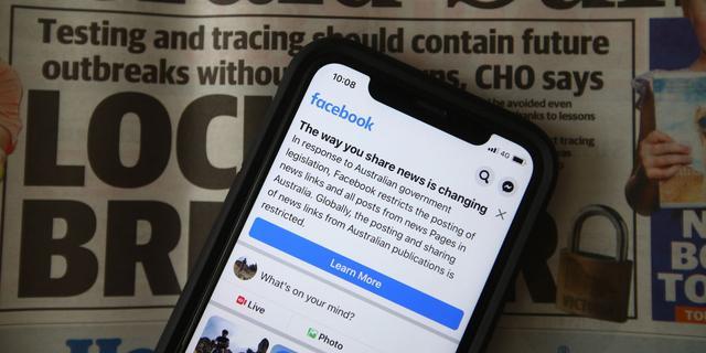 Facebook gaat nieuws delen na toezeggingen weer mogelijk maken in Australië