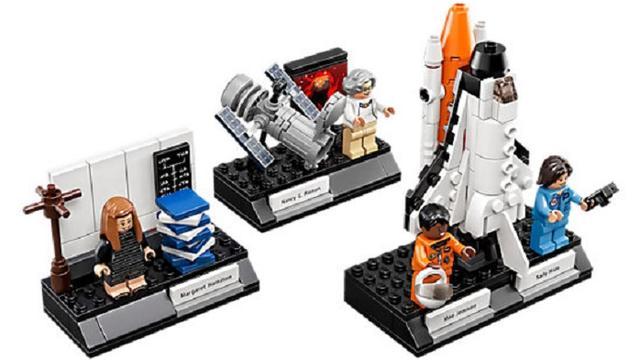 NASA-vrouwen zijn populairste Lego-poppetjes