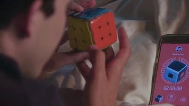 Slimme Rubiks kubusleert je de oplossing via app
