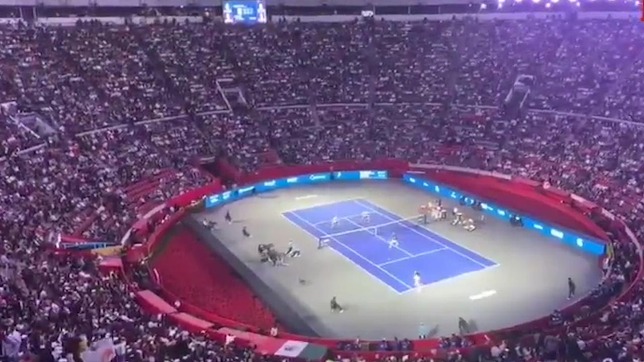 Federer en Zverer breken bezoekersrecord in Mexico-City