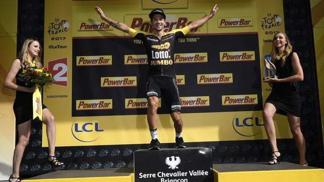 Lotto-Jumbo-renner Roglic dolgelukkig na fraaie zege in Alpenrit