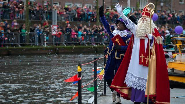 De intocht van Sinterklaas in Utrecht in beeld