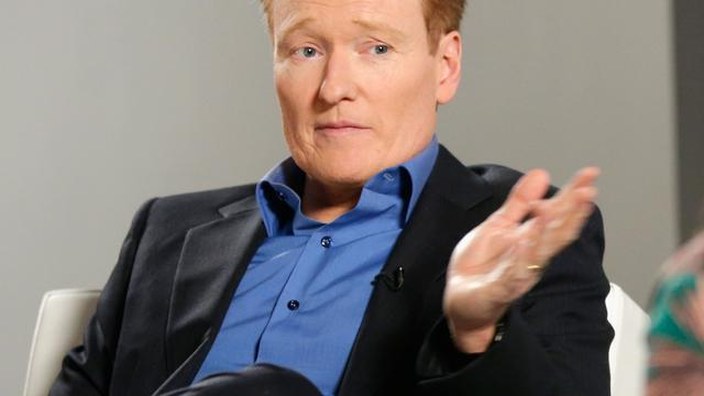 Conan O'Brien met Michelle Obama naar Qatar