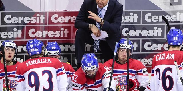 Bondscoach Tsjechisch ijshockeyteam neemt ontslag na conflict