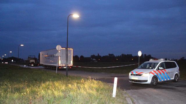 Chauffeur aangehouden na uitbranden vrachtwagen