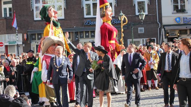 Koninklijk bezoek aan Bergen op Zoom kost gemeente 22.000 euro