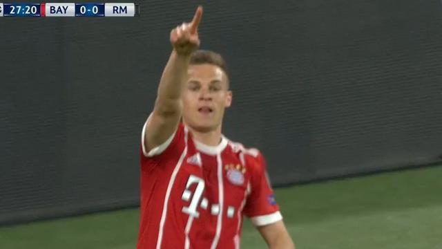 Kimmich maakt fraaie openingstreffer voor Bayern