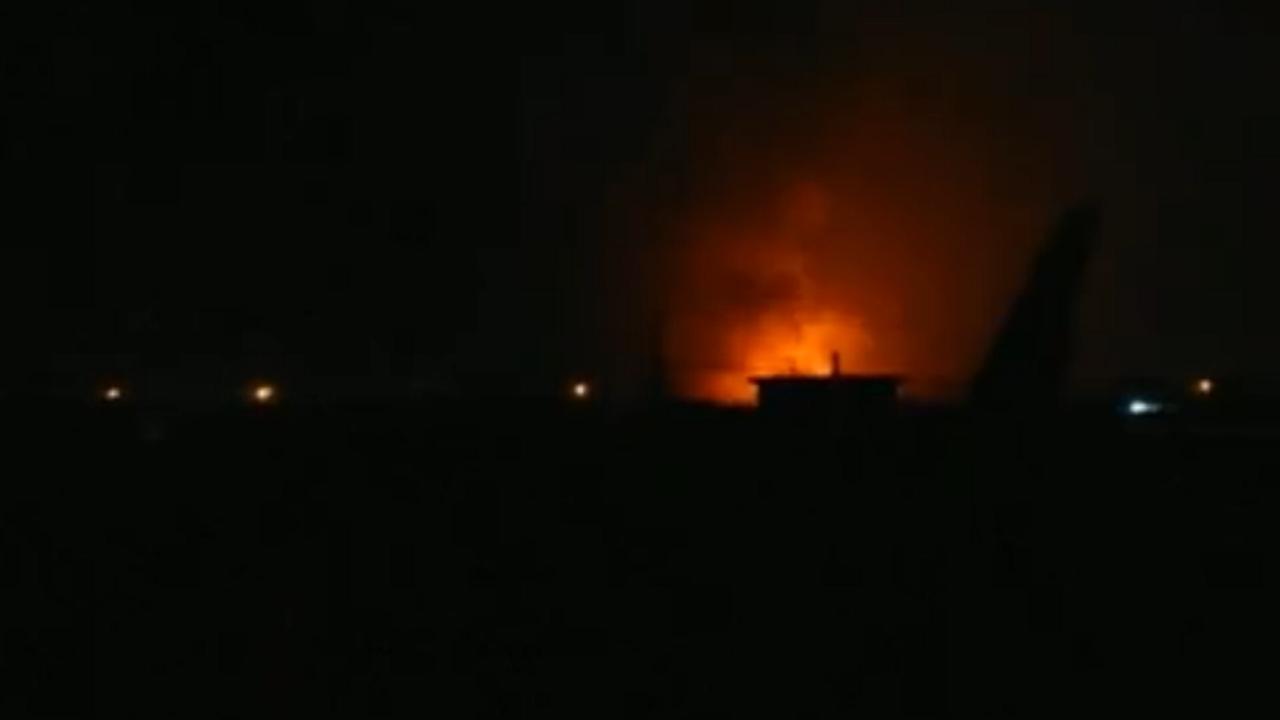 Tientallen explosies vlakbij luchthaven Bagdad
