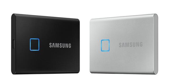 Samsung beveiligt nieuwe externe SSD-schijf met vingerafdrukscanner