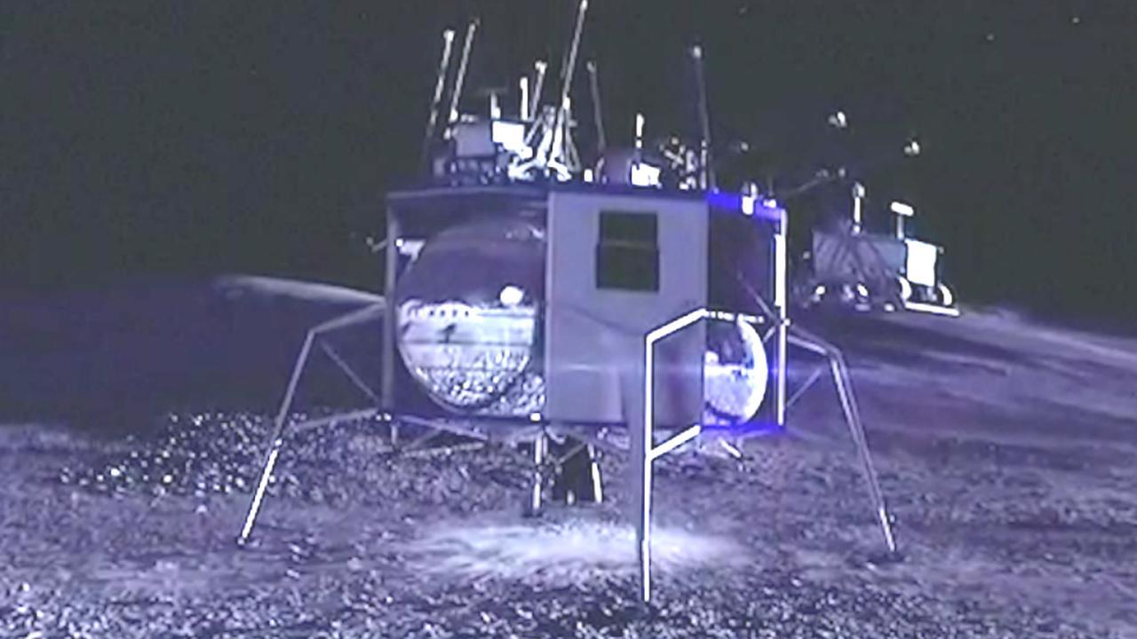 Deze nieuwe raket moet in 2024 op de maan landen