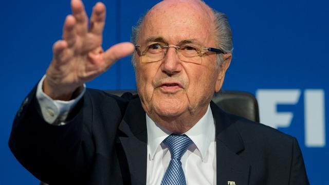 Blatter verwacht dat schorsing bij FIFA wordt opgeheven