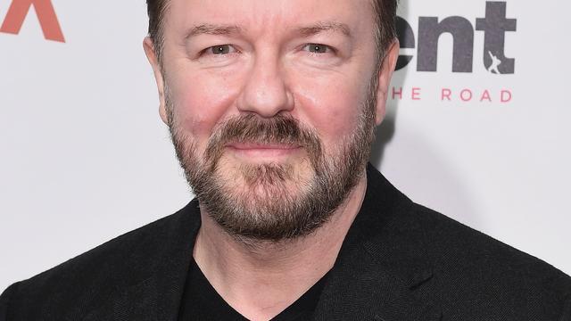 Ricky Gervais komt naar Amsterdam voor optreden