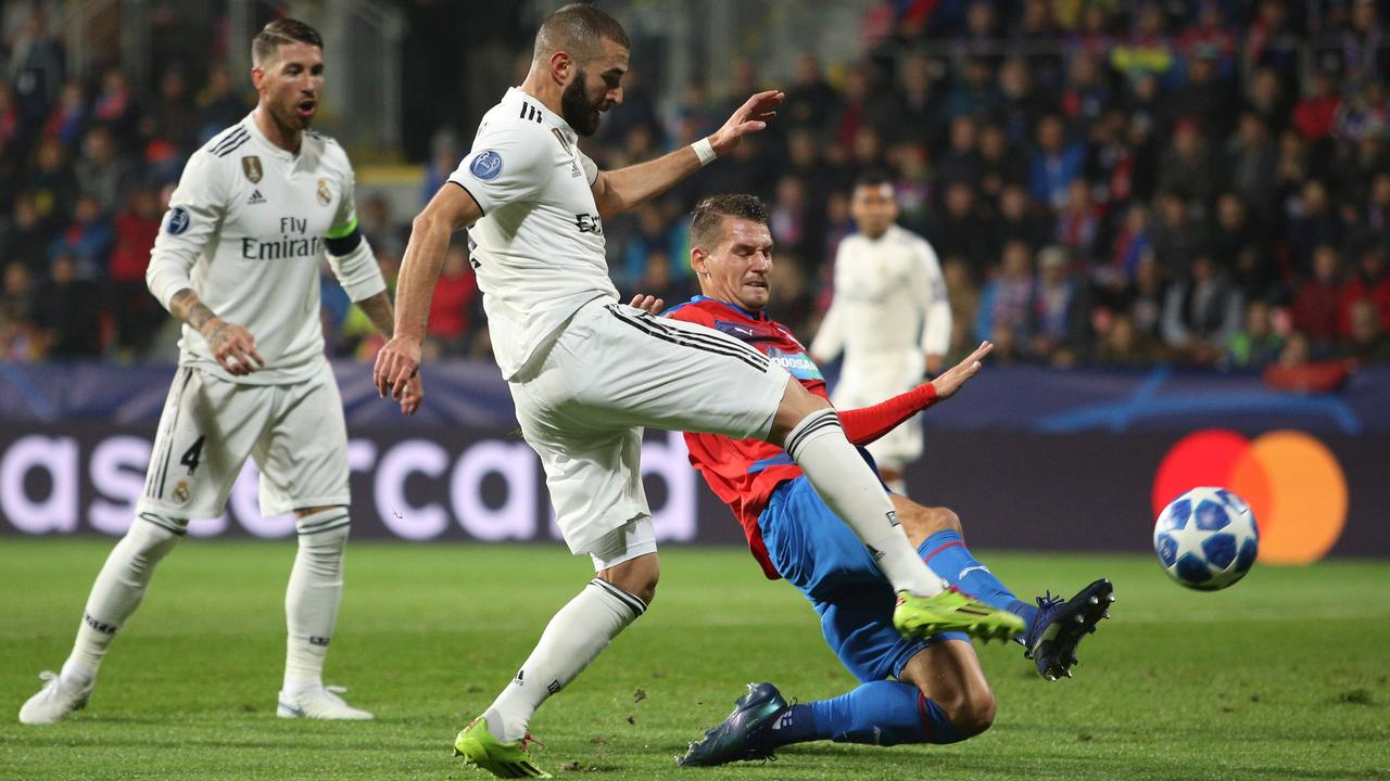 Samenvatting Viktoria Plzen-Real Madrid (0-5)