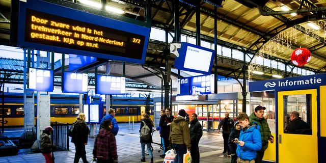 Komend weekend geen treinen bij Groningen vanwege werkzaamheden