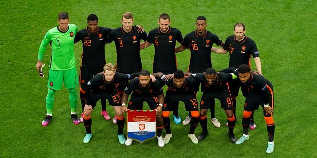 Nederlands elftal speelt zondag in achtste finales van EK tegen Tsjechië