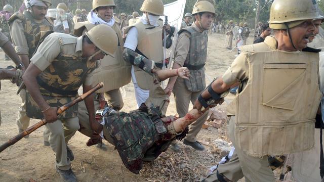 Zeker 24 doden bij ontruiming park India