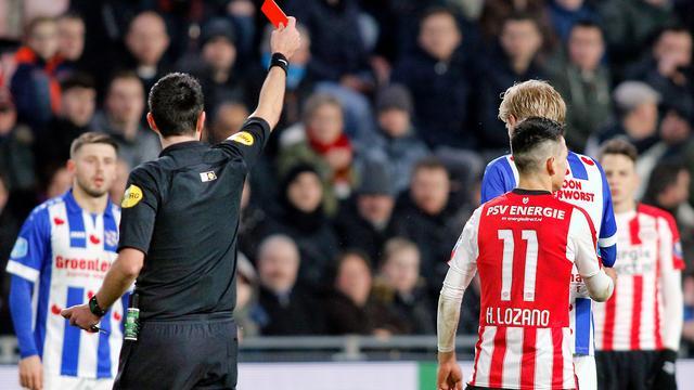 PSV niet akkoord met voorstel van drie duels schorsing voor Lozano