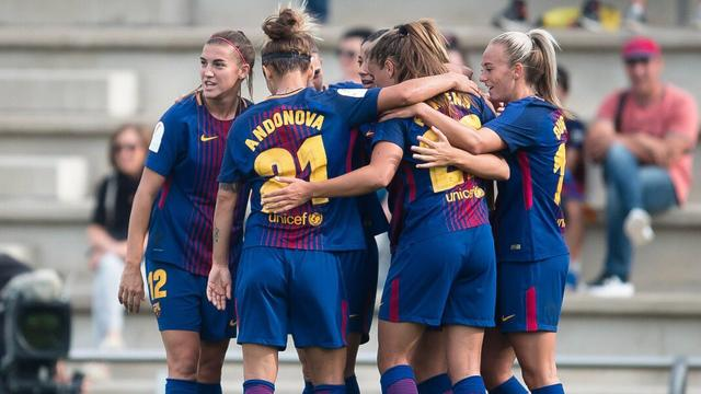 Lieke Martens maakt eerste doelpunt in dienst van FC Barcelona
