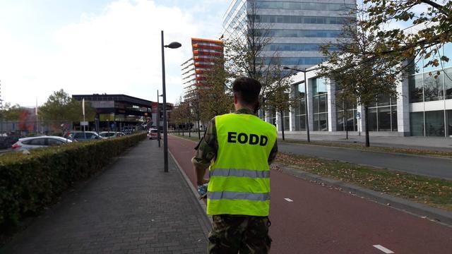 Winkelgebied in Almere tijdelijk ontruimd om knutselwerkje