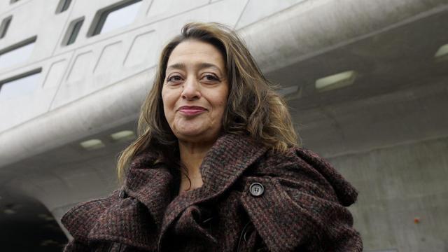 Iraaks-Britse architect Zaha Hadid (65) overleden