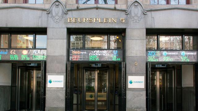 Aandelenmarkten schieten omhoog, AEX flink omhoog