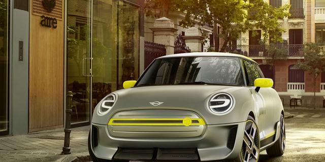 Mini komt in 2019 met volledig elektrische auto