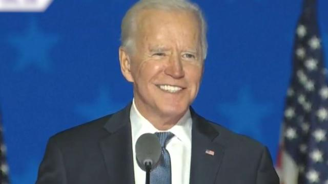 Biden: 'Heb vertrouwen, we zullen winnen'