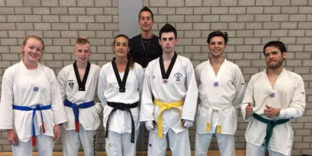 Meerdere medailles voor Leidse Taekwondoka's op Dutch Masters