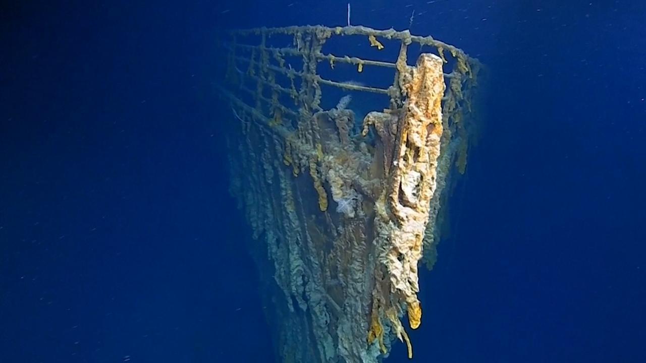 Duikteam ontdekt dat Titanic flink is aangetast door bacterie