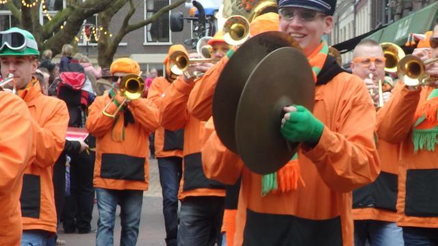 Fusie carnavalsbands Huijbergen