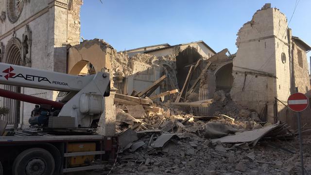 Centraal-Italië opnieuw getroffen door zware aardbeving